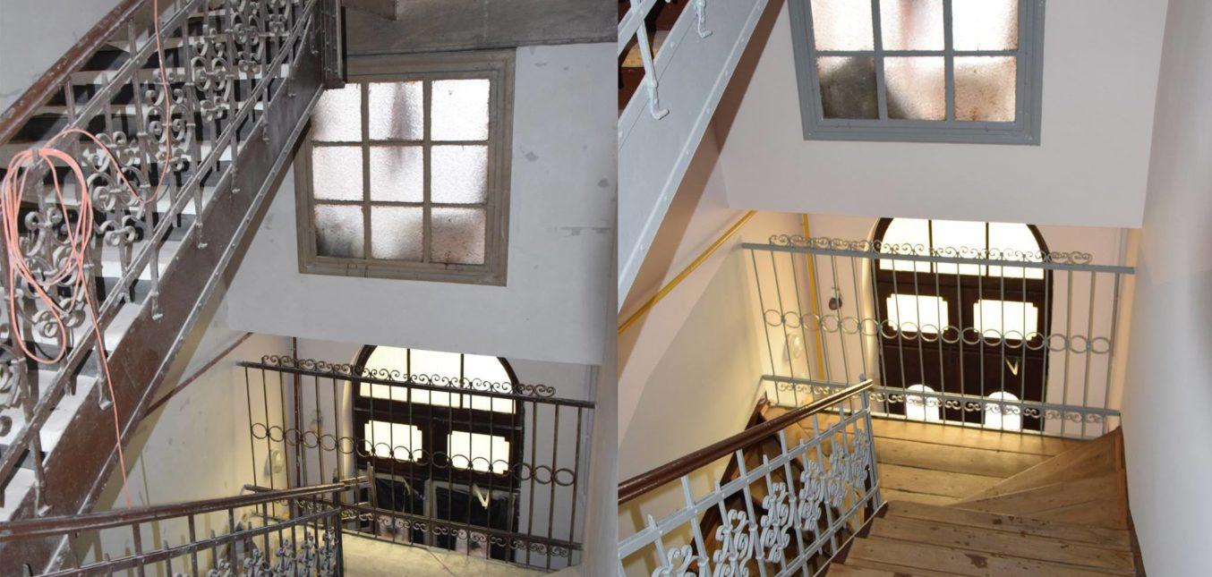 Remont klatki schodowej - Ratuszowa 3